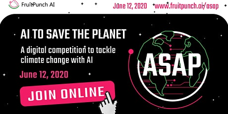 AI to Save the Planet (ASAP) Online tickets