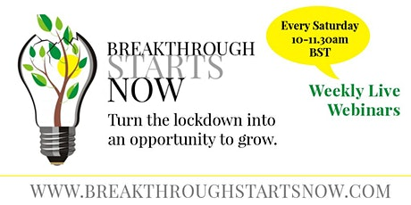 Breakthrough Starts Now tickets