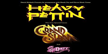 Heavy Pettin plus Grand Slam plus The Big Dirty live at Eleven Stoke billets
