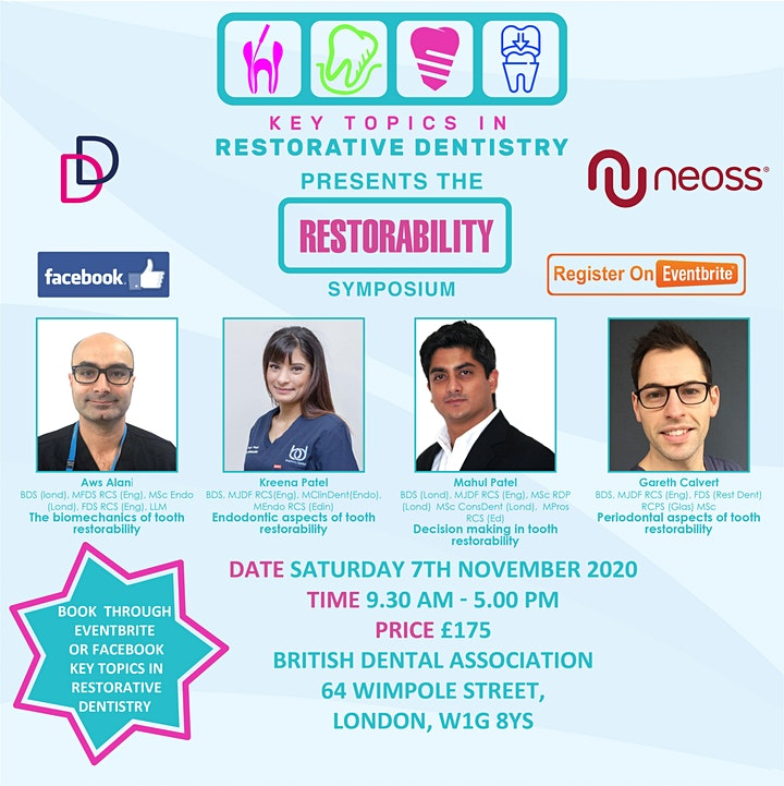 Key Topics in Restorative Dentistry presents the Restorability symposium image