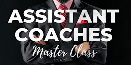 ASSISTANT COACHES MASTER CLASS billets
