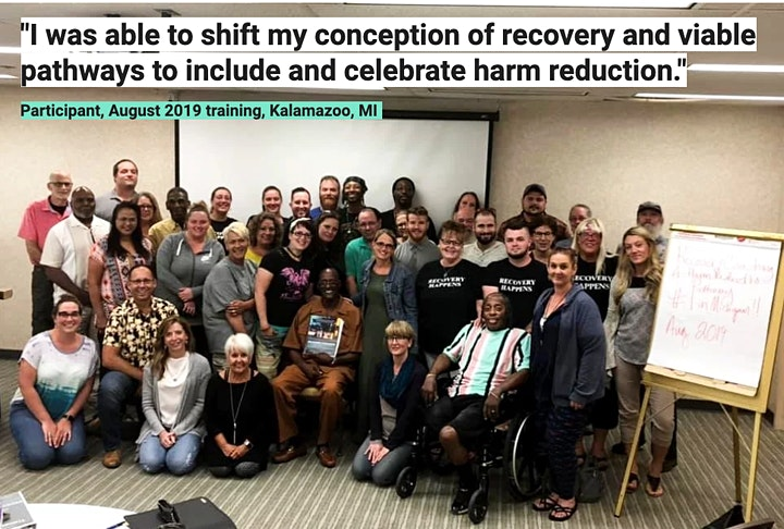Recovery Coaching a Harm Reduction Pathway© DIGITAL by TRA image