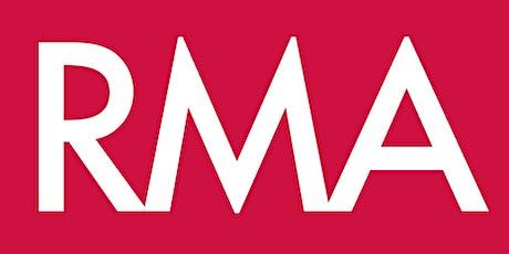 Work-in-progress presentation from RMA members tickets