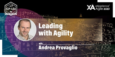 Leading with Agility - (ICP-LEA) bilhetes