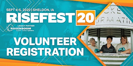 RiseFest 2020 Volunteers tickets