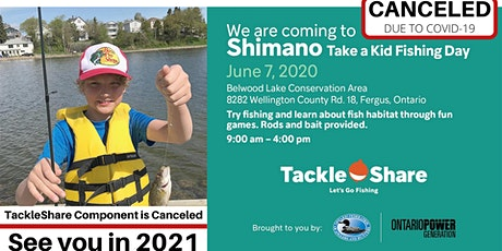Shimano Take A Kid Fishing Day tickets