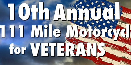 10th Annual Motorcycle Ride For Veterans tickets