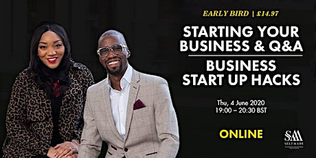 HOW TO START A BUSINESS WORKSHOP & Q&A | BUSINESS  tickets