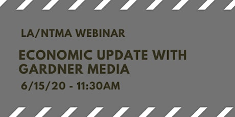 Economic Update with Gardner Media tickets