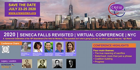 The 2020 Seneca Falls Revisited Virtual Conference  | Celebrating Suffrage tickets
