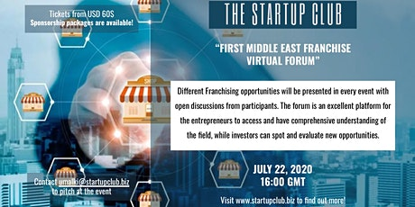 The Startup Club Franchising Virtual Forum tickets