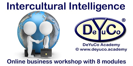 DeYuCo Academy Online Business Workshop Intercultural Intelligence tickets