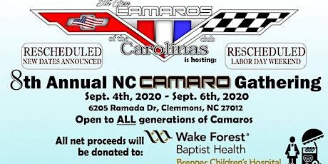 8th Annual NC Camaro Gathering tickets