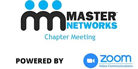 Master Networks VIRTUAL Northeast Philadelphia Chapter Meeting tickets