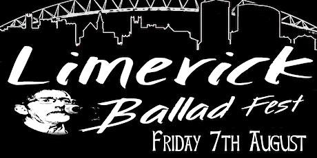 Limerick Ballad Fest tickets