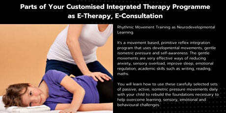 ONLINE COACHING  How to deliver a Neurodevelopmental therapy at home tickets