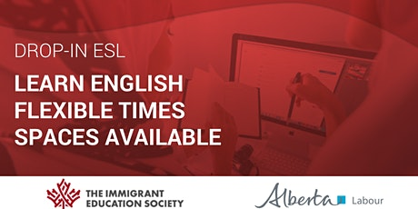 Online Affordable English Classes for Canadians, PR and Refugees ESL tickets