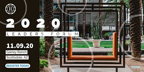 2020 - RCM Leaders Forum tickets