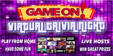 Game On! Virtual Trivia Night tickets