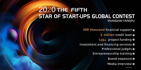2020 the Fifth Star of Startups Global Contest(Pitch Event) tickets