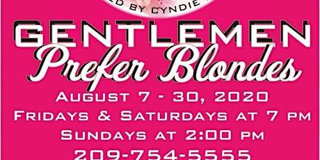 Gentlemen Prefer Blondes tickets