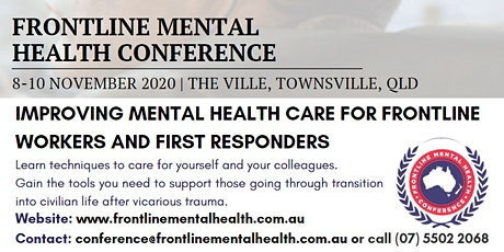 Frontline Mental Health Conference tickets