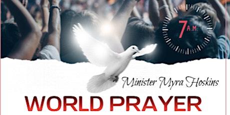World Prayer - Join us In Prayer tickets