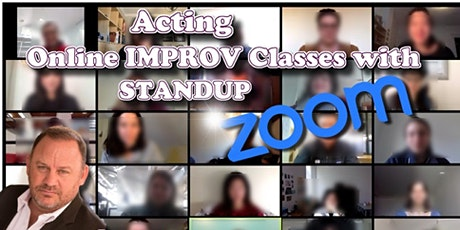 Online Improv Classes - Weekly tickets