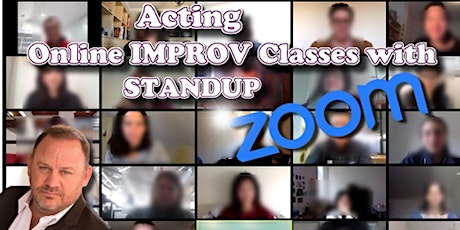 Online Stand-up Comedy Classes - Weekly tickets