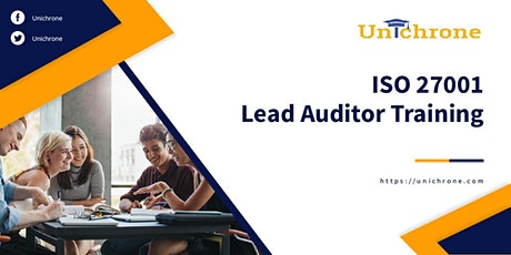 ISO 27001 Lead Auditor Training in Melbourne Australia tickets