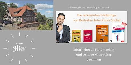 Führungskräfte Workshop - neue Mitarbeiter finden Tickets