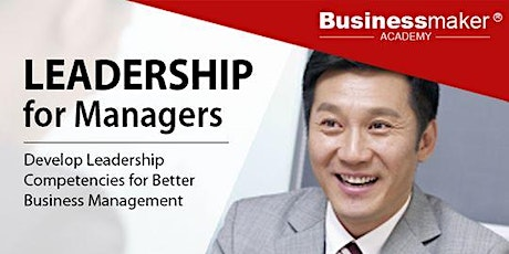 Leadership for Managers tickets