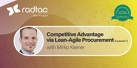 Lean-Agile Procurement - Competitive Advantage (Credential 1) bilhetes