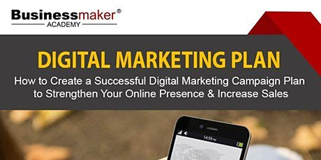 Digital Marketing Plan tickets