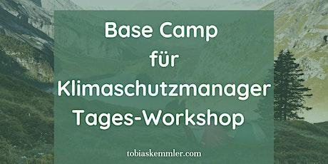 Basecamp für Klimaschutzmanager Tickets
