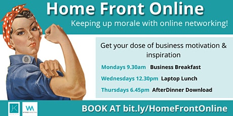 Home Front Online - Keeping morale up with online networking tickets