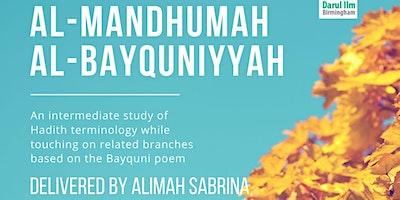 Al Mandhumah Al Bayquniyyah