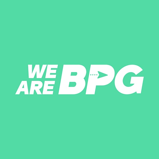 We Are BPG, in association with Clear Meetings logo
