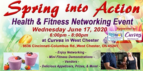 Spring into Action: Health and Fitness Networking Event tickets