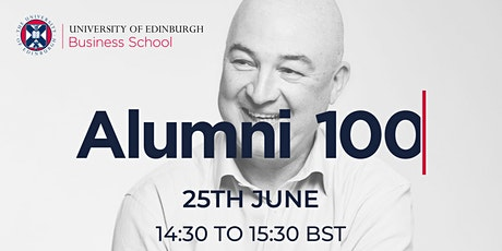 Alumni 100 - In Discussion with Alan Jope, CEO, Unilever tickets