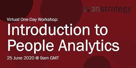 Introduction to People Analytics (Virtual, EMEA) tickets