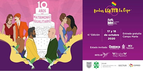 Bodas LGBTTTI La Expo 4ta. Edición boletos