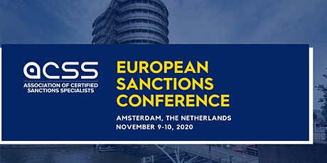 EU SANCTIONS CONFERENCE 2020 tickets