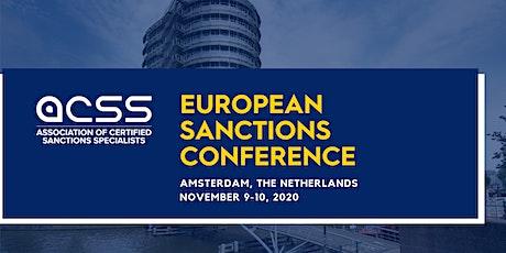 EU SANCTIONS CONFERENCE 2020 tickets