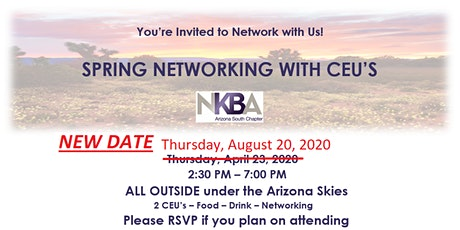 SPRING NETWORKING WITH CEU'S tickets
