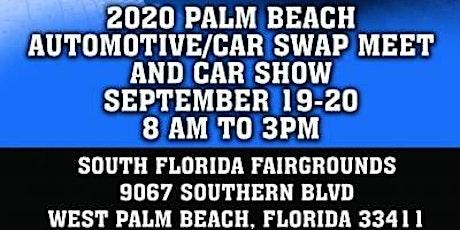 2020 Palm Beach Automotive/Car Swap Meet and Car Show tickets