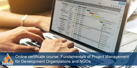 Online Course: Fundamentals of Project Management for Development (August 3, 2020) tickets
