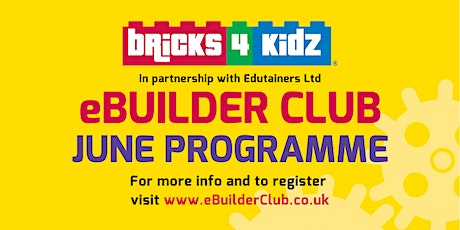 JUNE Programme - eBuilder Club  Tickets