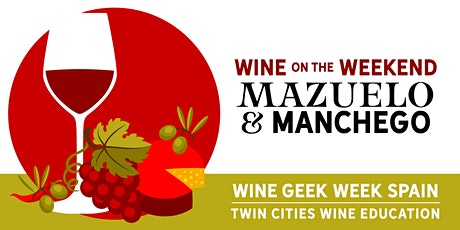 Wine Geek Week: Spain - Mazuelo and Manchego at The Vine Room tickets