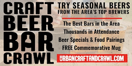 Craft Beer Bar Crawl Philadelphia Fall 2020 tickets
